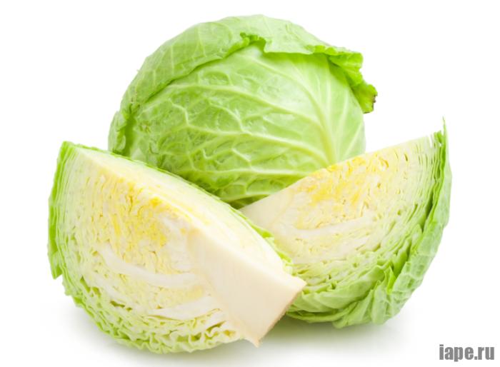 Состав белокочанной капусты