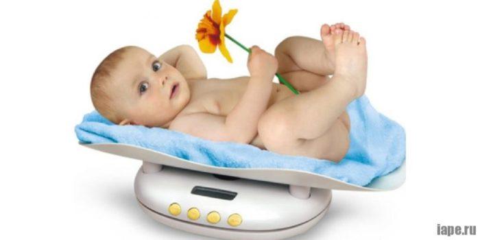 Бытовые весы для деток