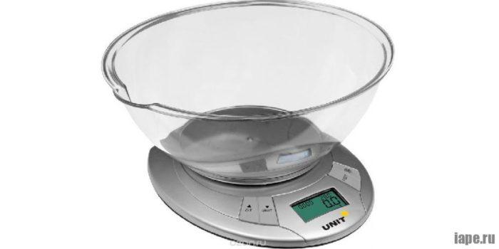 Бытовые весы для кухни