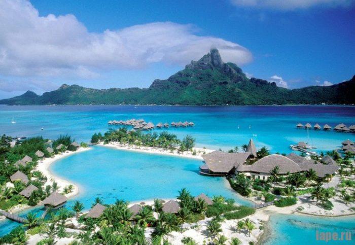 Остров Бора-Бора уютный райский уголок