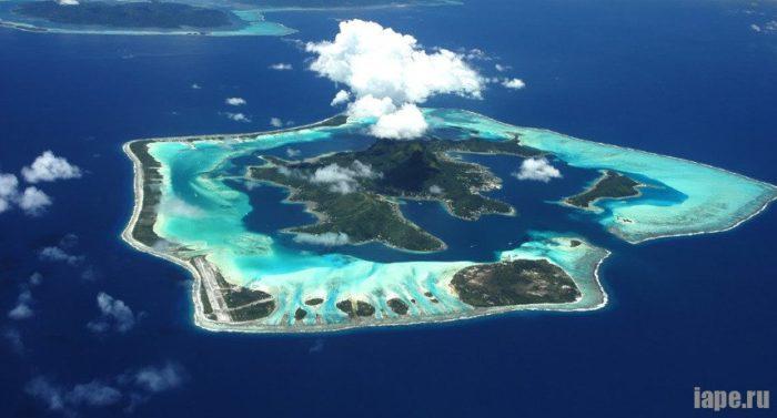 Райские острова Бора Бора