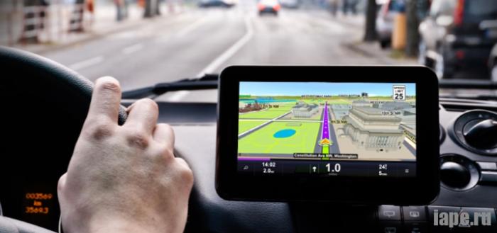 GPS-навигатор для автомобиля