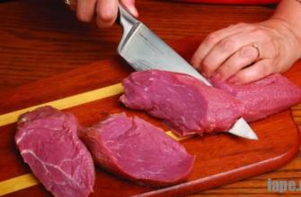 Как правильно нарезать мясо