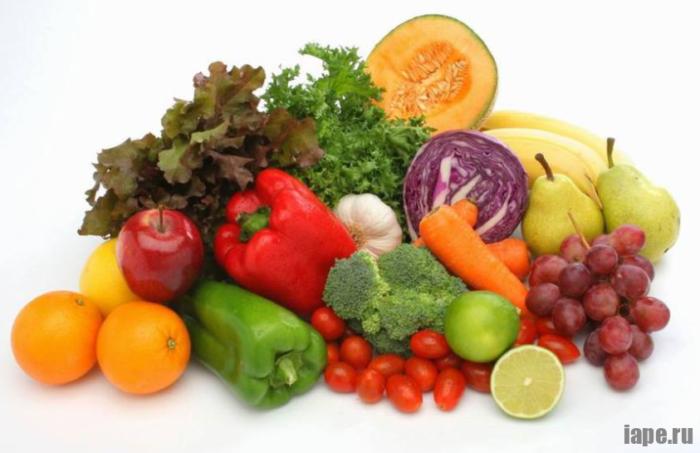 Овощная и фруктовая диета доктора Домбровской
