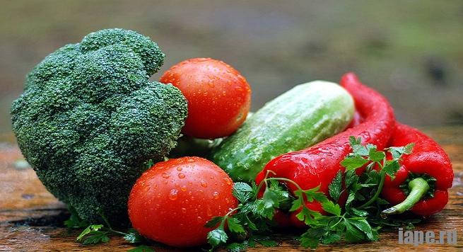 Овощная и фруктовая диета для похудения