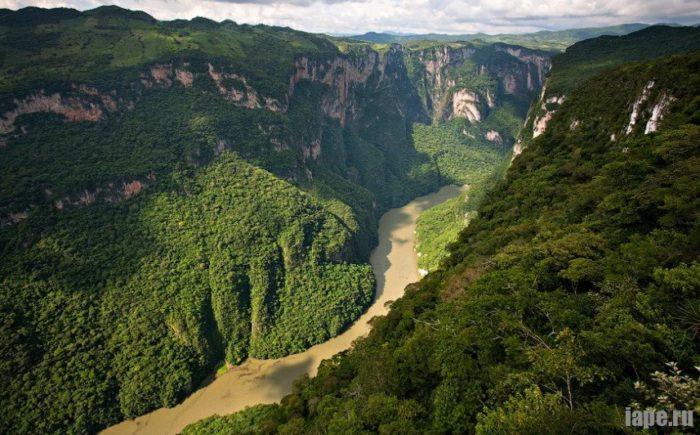 Каньон Сумидеро: Мексика, провинция Чьяпас