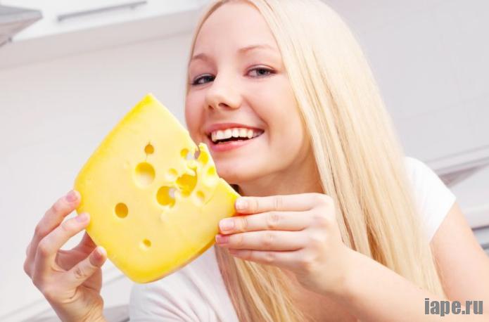 Сырная диета для похудения