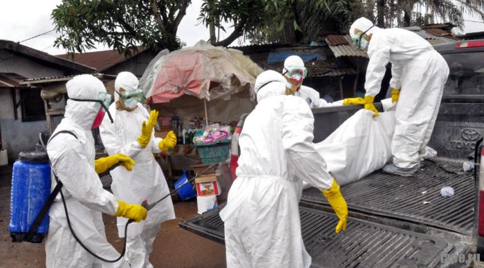 Страны, затронутые вирусом Эбола