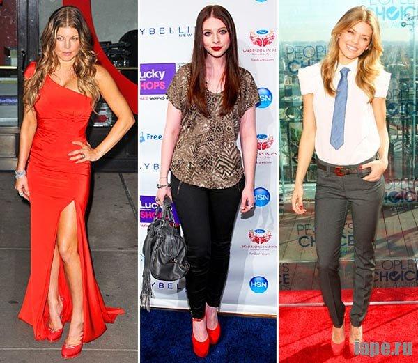 Красные туфли: с чем их носят знаменитости?