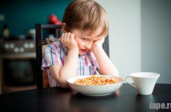 Плохой аппетит у ребенка: причины