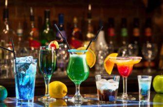Как правильно подавать напитки