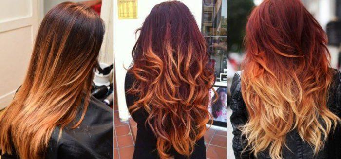 Окрашивание волос: модный рыжий