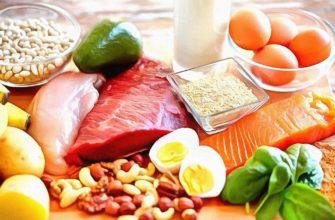 Белковая диета для быстрого похудения на 10 дней: меню
