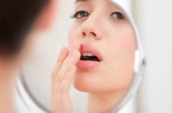 Как вылечить простуду на губе в домашних условиях?